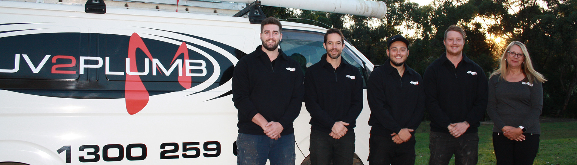 Pakenham plumbing team photo